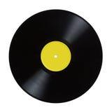 Enregistrement de vinyle. photographie stock libre de droits