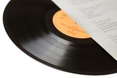 Enregistrement de vinyle photos stock