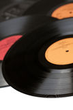 Enregistrement de vinyle images libres de droits