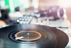 Enregistrement de vinyle photographie stock