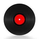 Enregistrement de vinyle 33 t/mn Image libre de droits
