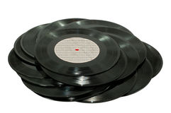 Enregistrement de vinyle Photo libre de droits