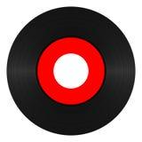 Enregistrement de vinyle 45 t/mn Image libre de droits