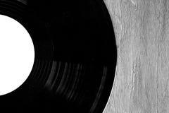Enregistrement de vinyle Photo stock
