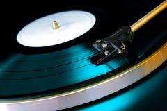 Enregistrement de vinyle Images stock