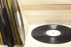 Enregistrement de vinyle Copiez l'espace pour le texte images libres de droits