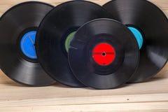 Enregistrement de vinyle Copiez l'espace pour le texte photos stock