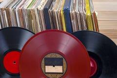 Enregistrement de vinyle Copiez l'espace pour le texte image libre de droits