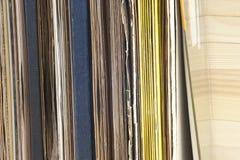Enregistrement de vinyle Copiez l'espace pour le texte photographie stock