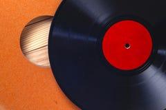 Enregistrement de vinyle Copiez l'espace pour le texte photo libre de droits
