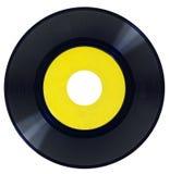 Enregistrement de vinyle de cru images stock