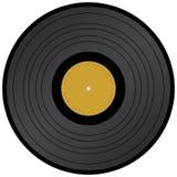 Enregistrement de vinyle de longue pièce Image libre de droits