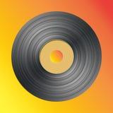 Enregistrement de vinyle de vecteur Illustration Libre de Droits