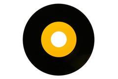 Enregistrement de vinyle des années 70 Photo stock