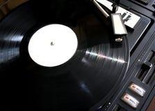 Enregistrement de vinyle sur des joueurs Image libre de droits