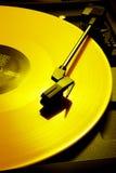 Enregistrement jaune photo stock