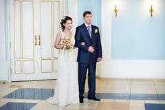 Enregistrement solennel de mariage Photo libre de droits