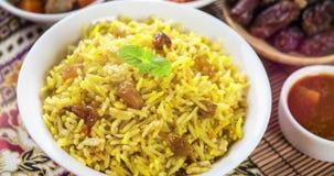 Enregistrement vidéo arabe de riz