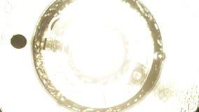 Enregistrement vidéo de clignotant de stroboscope Image stock