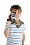 Enregistrement visuel image stock