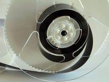 Enregistrement visuel de bande de technologie de VHS photographie stock