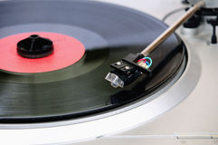 Enregistrements de vinyle Photo stock