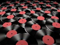 Enregistrements de vinyle Image stock