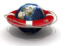 Enregistrer la terre de planète Photo stock