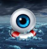 Enregistrer votre vision illustration stock