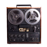 Enregistreur à bobines de vintage Photo libre de droits