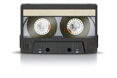 enregistreur à cassettes vierge Photos stock