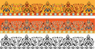 Enregistrez l'ornamental sur bande Image stock