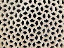 Enrejado blanco de la piedra Foto de archivo libre de regalías