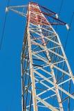 Enrejado con los cables eléctricos Imagen de archivo libre de regalías