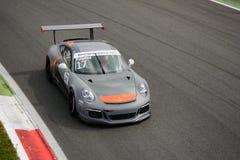 Enrico Fulgenzi Porsche Carrera kopp 2015 på Monza Royaltyfri Bild