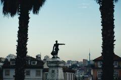 Enrico il Navigatore Monument Fotografie Stock