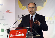 Enrico Letta Photos stock