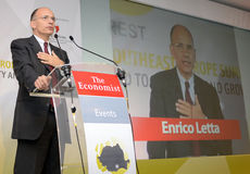 Enrico Letta Royalty Free Stock Images