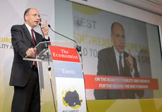 Enrico Letta Stock Images