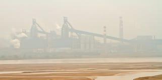 enrionment przemysłu zanieczyszczenie zdjęcie royalty free