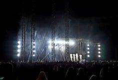 Enrique Iglesias-Konzert in Kiew an Olim-Stadion lizenzfreies stockfoto