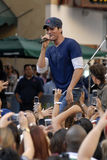 Enrique Iglesias performing live. Royalty Free Stock Image