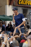 Enrique Iglesias performing live. Stock Images