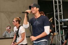"""Enrique Iglesias. At an In-Store Performance and Signing for his new album """"Insomniac"""". Virgin Megastore, Hollywood, CA. 06-12-07 Royalty Free Stock Photo"""