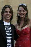Enrique Sapene and Carolina Bacardi Royalty Free Stock Photography