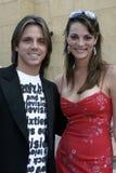 Enrique Sapene i Karolina Bacardi Zdjęcia Royalty Free