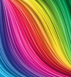 Enrolamento colorido abstrato ilustração stock