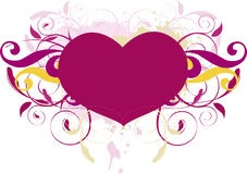 Enrolamento do coração Foto de Stock Royalty Free