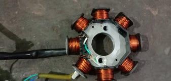 Enrolamento do motor da armadura foto de stock royalty free