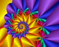 Enrollamiento del arco iris libre illustration